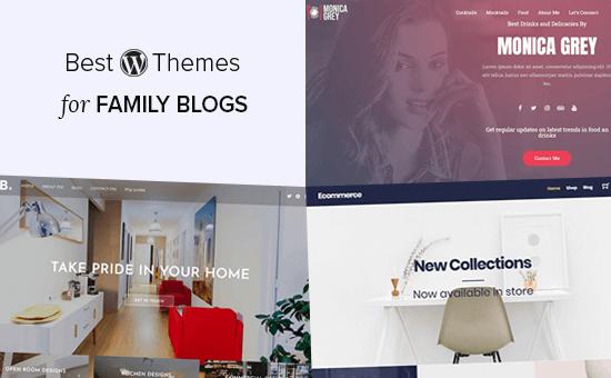 Los mejores temas de WordPress para blogs familiares