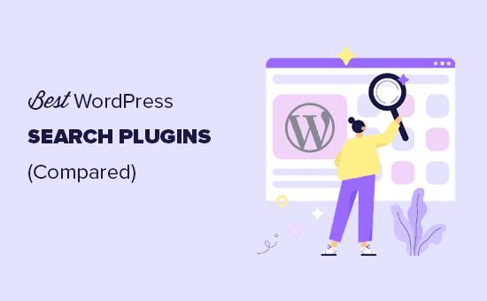 Comparando los mejores complementos de búsqueda de WordPress
