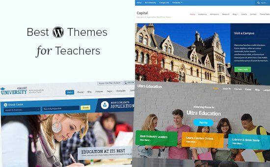 Los mejores temas educativos de WordPress para profesores