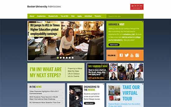 Universidad de Boston - Admisiones