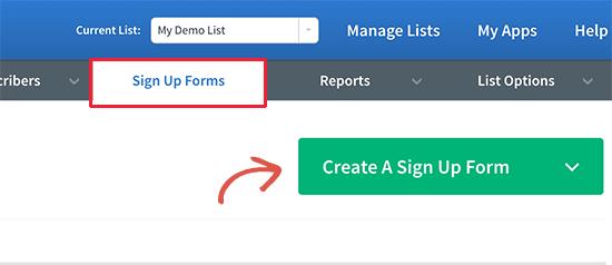 Crear formulario de registro