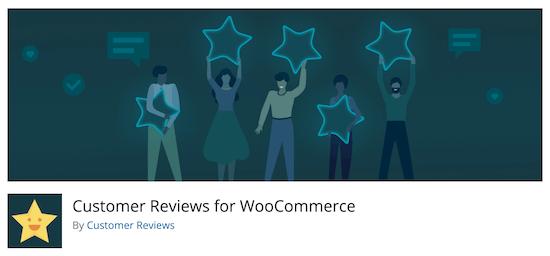 Reseñas de clientes sobre WooCommerce