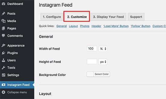 Personalizar el feed de Instagram