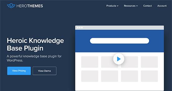 Complemento de WordPress HeroicKB