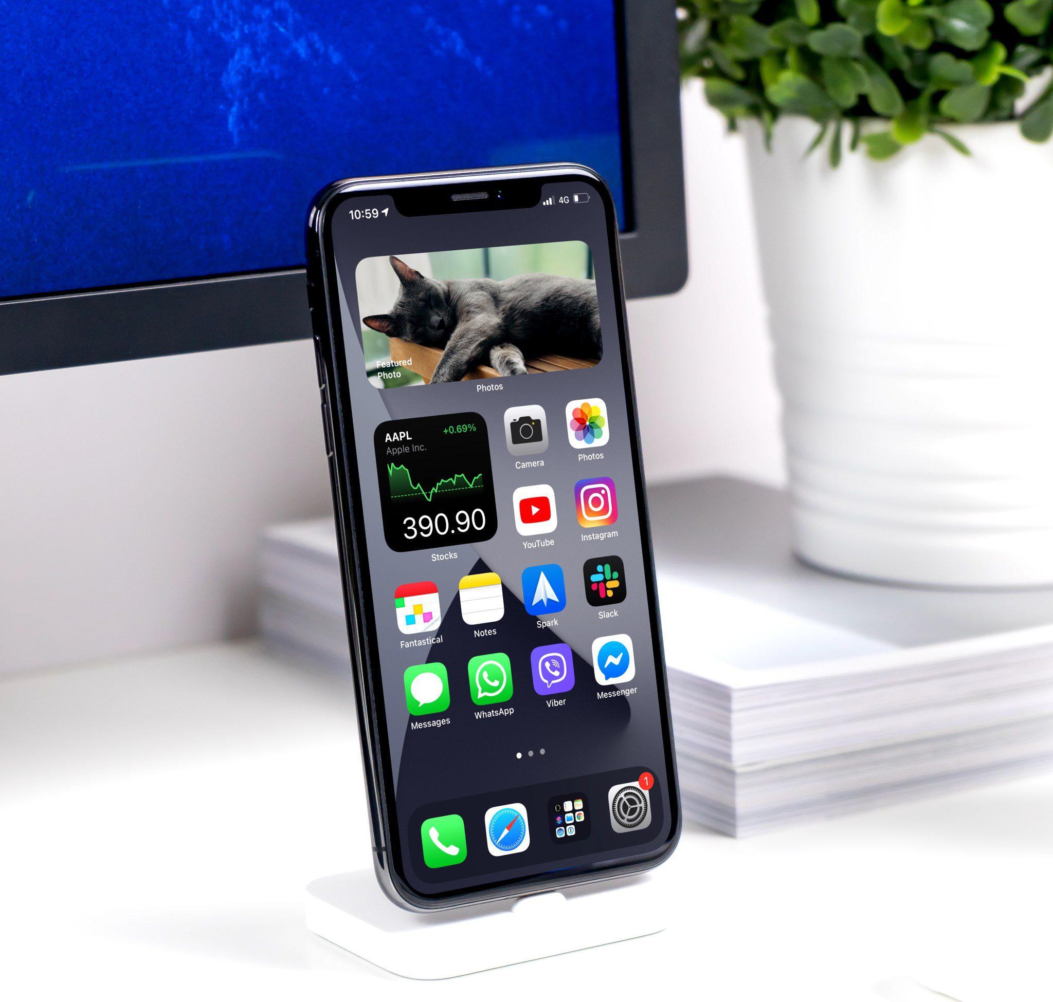 Widgets de pila inteligente en iPhone - Hero Image