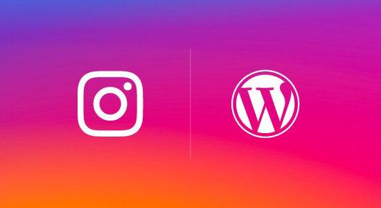 Instagram y WordPress