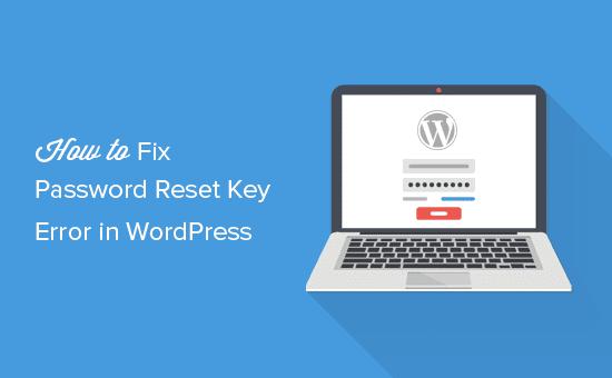 Corrección No se pudo guardar la clave de restablecimiento de contraseña en el error de la base de datos en WordPress