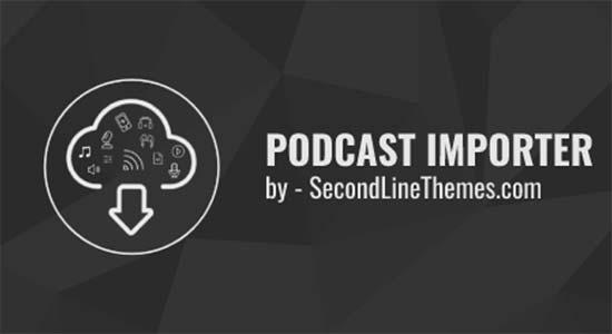 Importador de podcasts de SecondLine