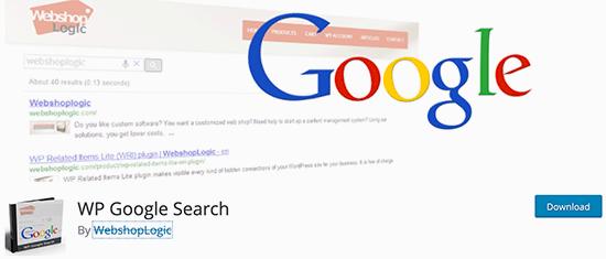 Búsqueda de Google WP