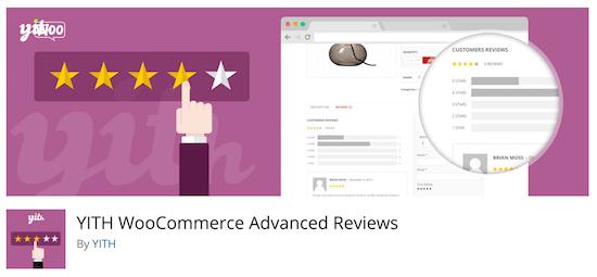 YITH WooCommerce Reseñas avanzadas