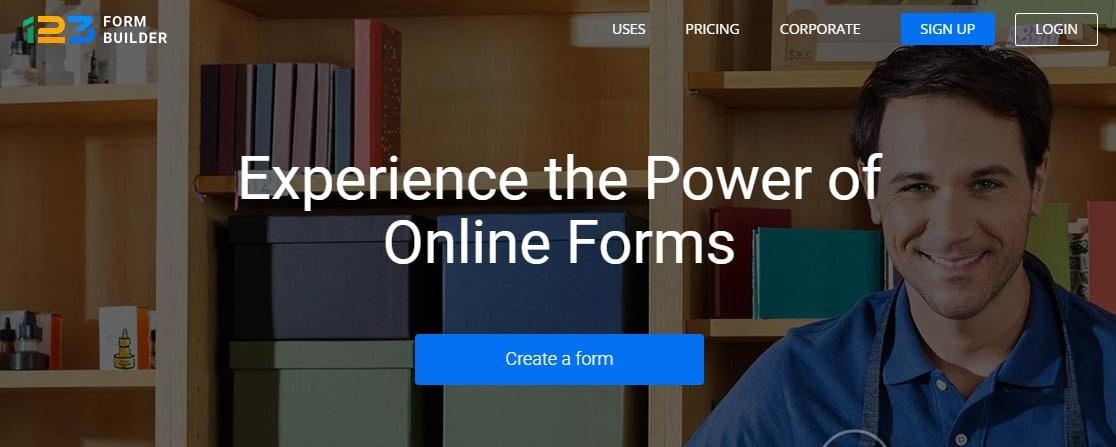 123formbuilder principales alternativas de formularios de Google