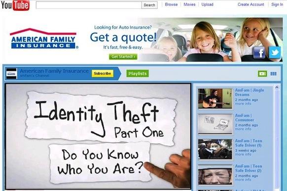 Estudio de caso de American Family Insurance en YouTube