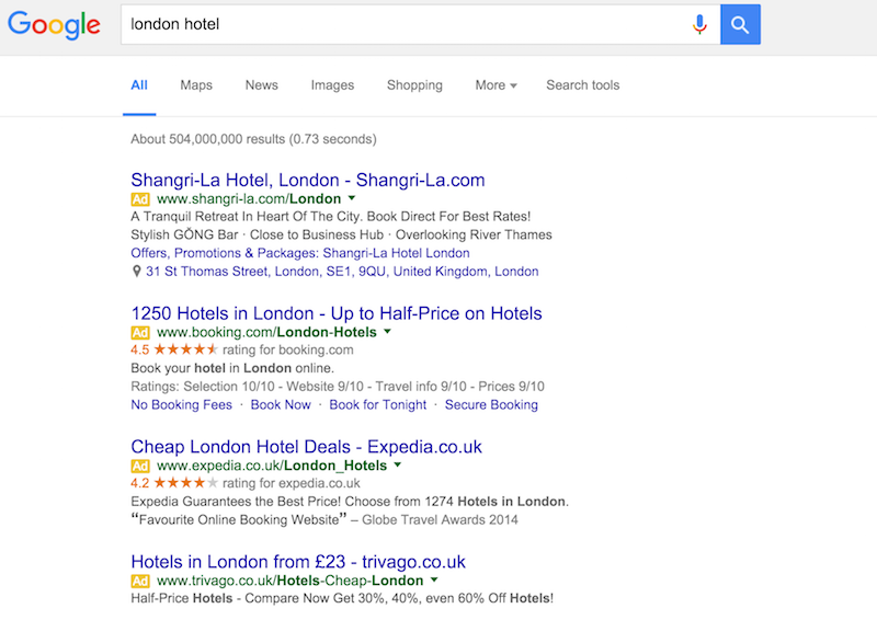 hotel de londres Búsqueda de Google