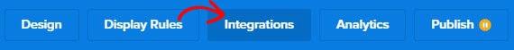 Cinta de integraciones
