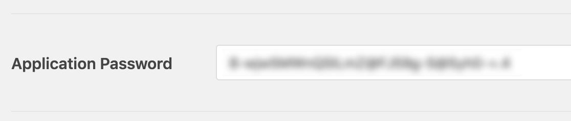Pegue el secreto del cliente en el campo Contraseña de la aplicación en WP Mail SMTP