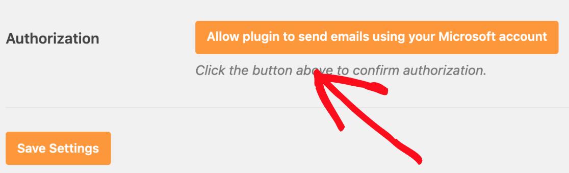 Proporcionar autorización para el correo de Outlook de wordpress de la cuenta de Microsoft