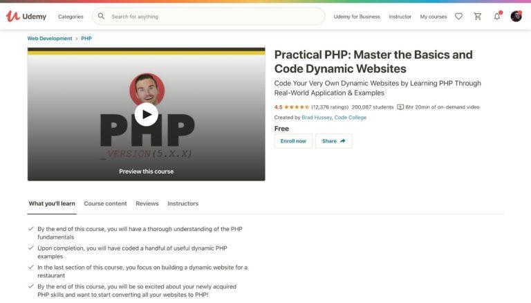 Práctico PHP Udemy