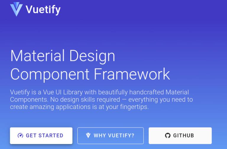 Vuetify marco