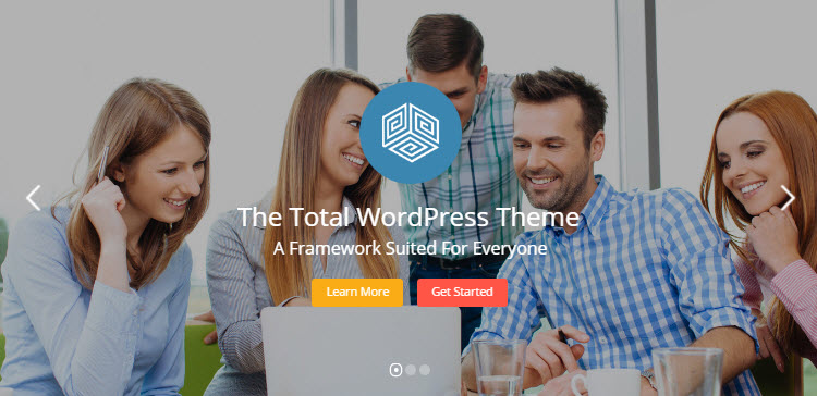 Tema total de WordPress