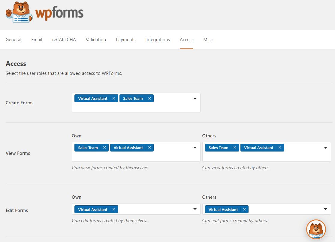 nuevos controles de acceso