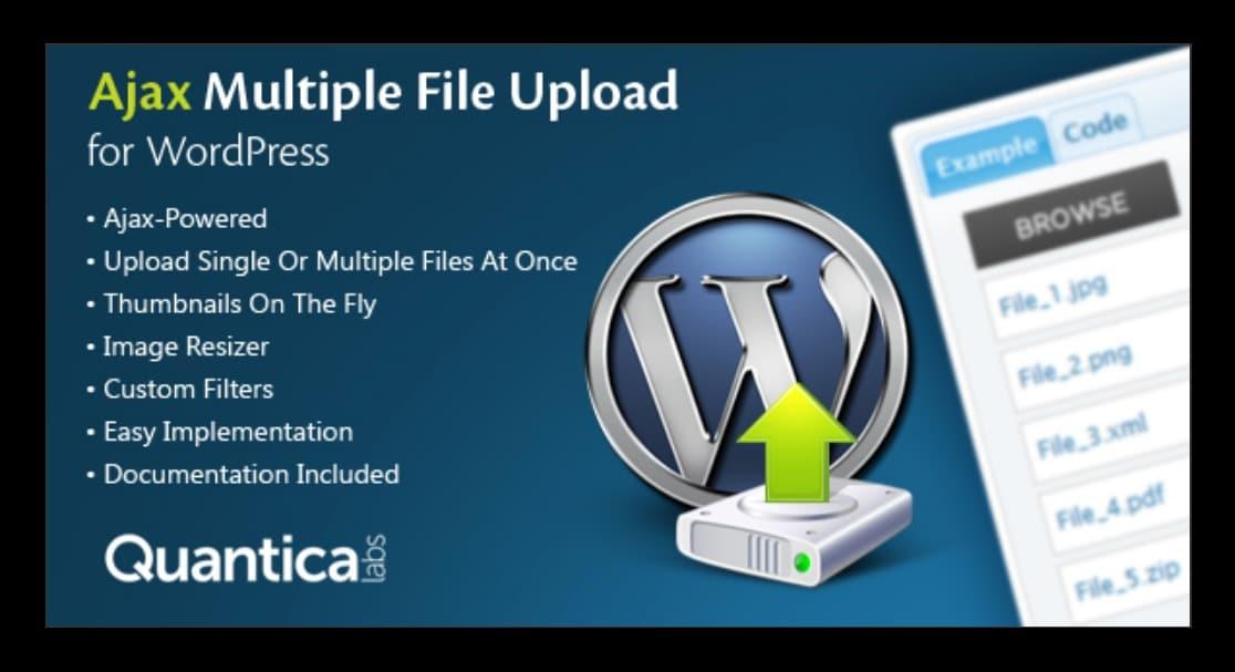 carga de varios archivos