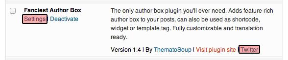 Acción del complemento de WordPress y metavínculos