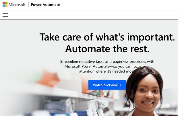 Integración de Power Automate