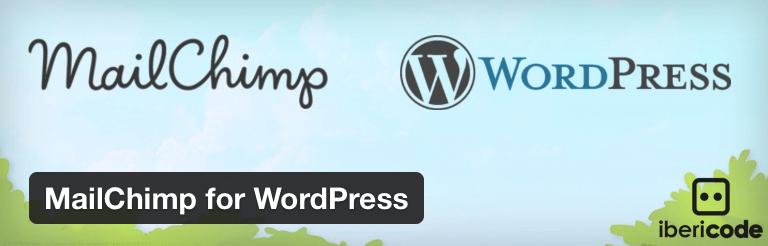 Complemento de MailChimp para WordPress