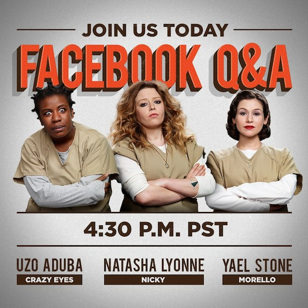 OITNB Facebook Preguntas y respuestas