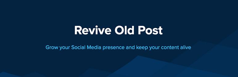 Complemento de WordPress Revive Old Post