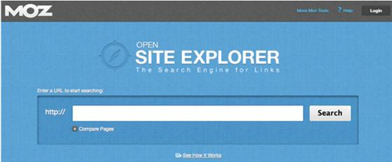 Explorador de sitio abierto