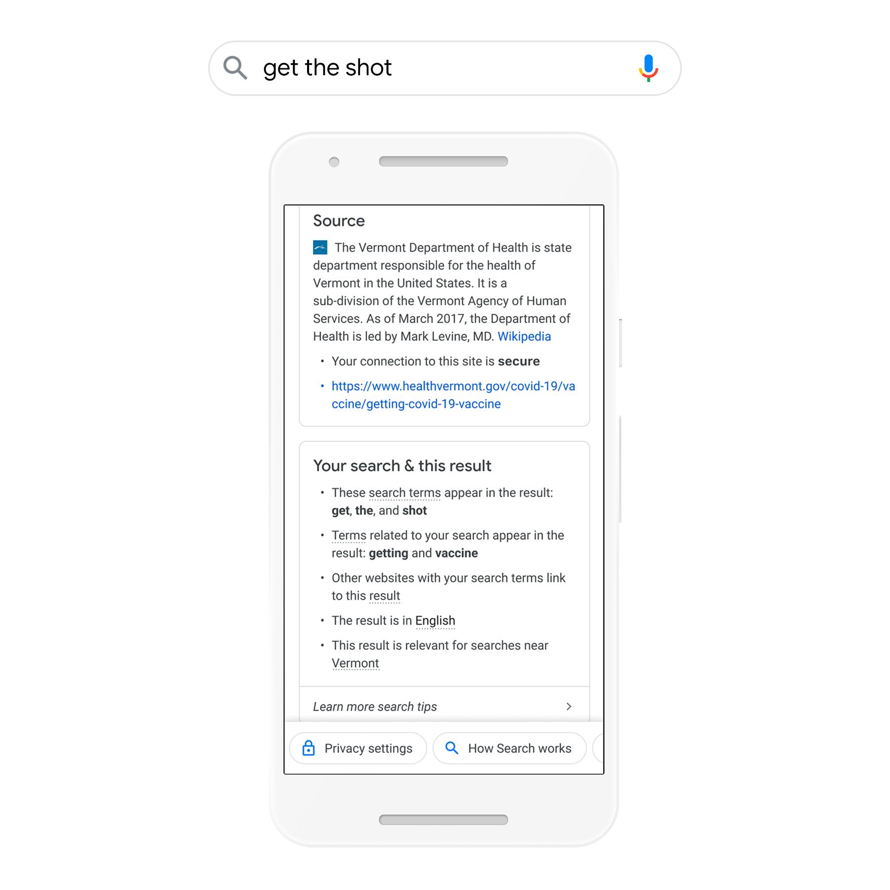Google expande 'Acerca de este resultado' con información sobre factores de clasificación
