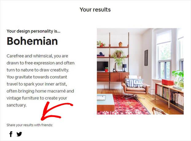 Resultados de la prueba de compartir de Airbnb_