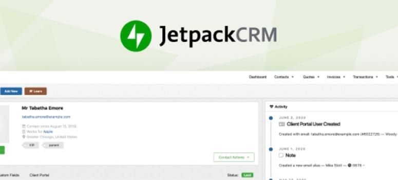 Complemento Jetpack CRM