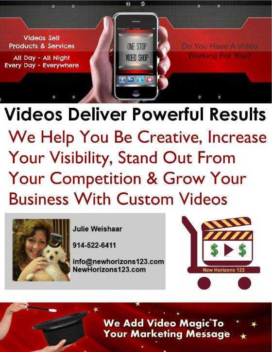 Póster de creación de video de NewHorizons123.com