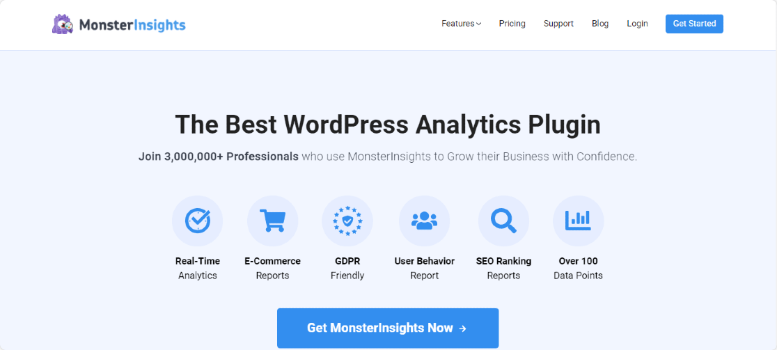 plugin monsterinsights pro mejores plugins de wordpress para afiliados