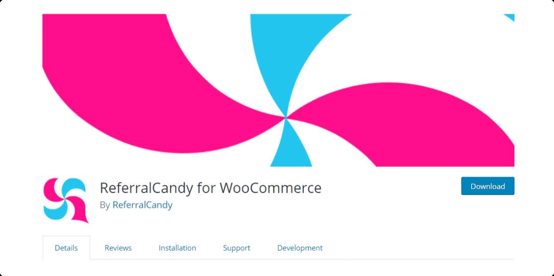 ReferralCandy para WooCommerce, los mejores complementos de afiliados de wordpress gratuitos