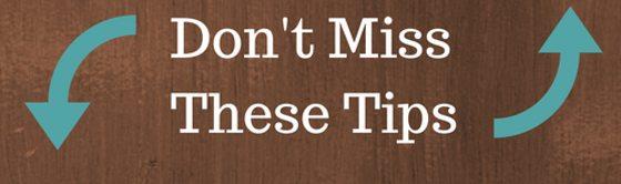 No te pierdas estos consejos