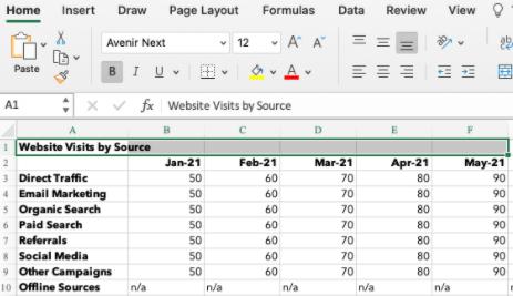 Cómo fusionar y centrar celdas en Excel