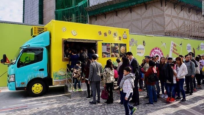 iniciar el negocio de camiones de comida