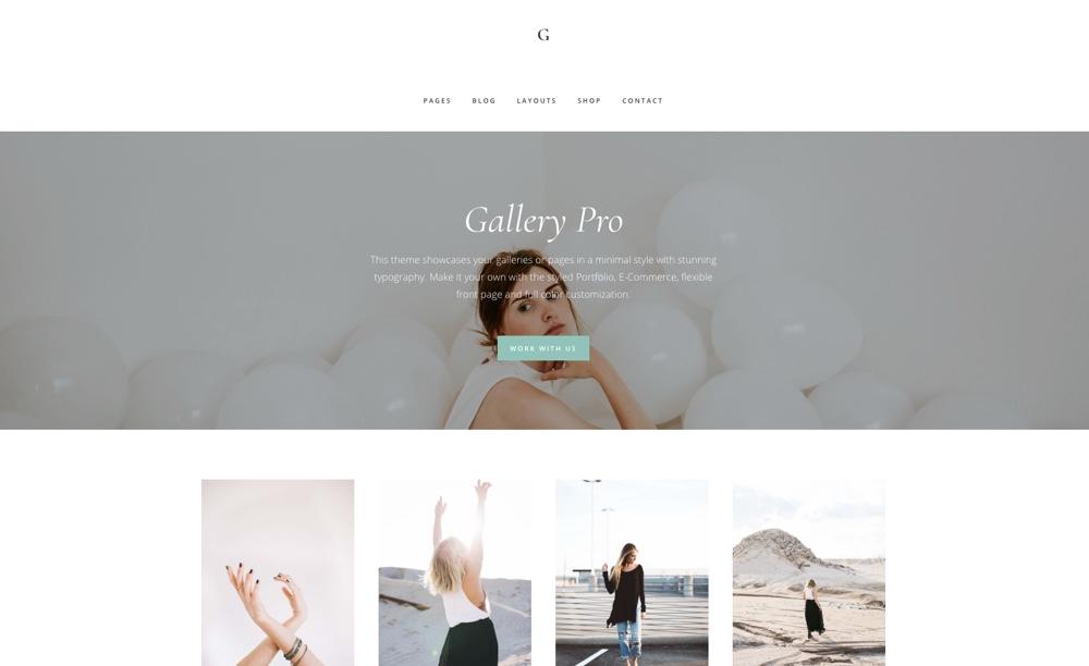 Tema de Gallery Pro