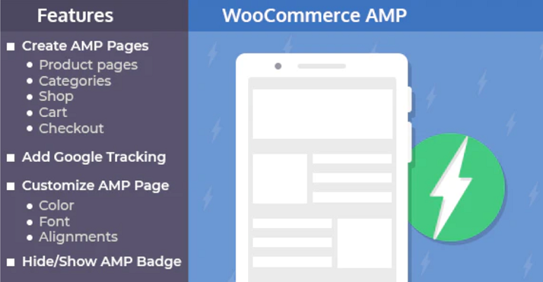 Complemento AMP para WooCommerce