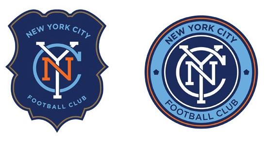 dos logos de fc de nueva york
