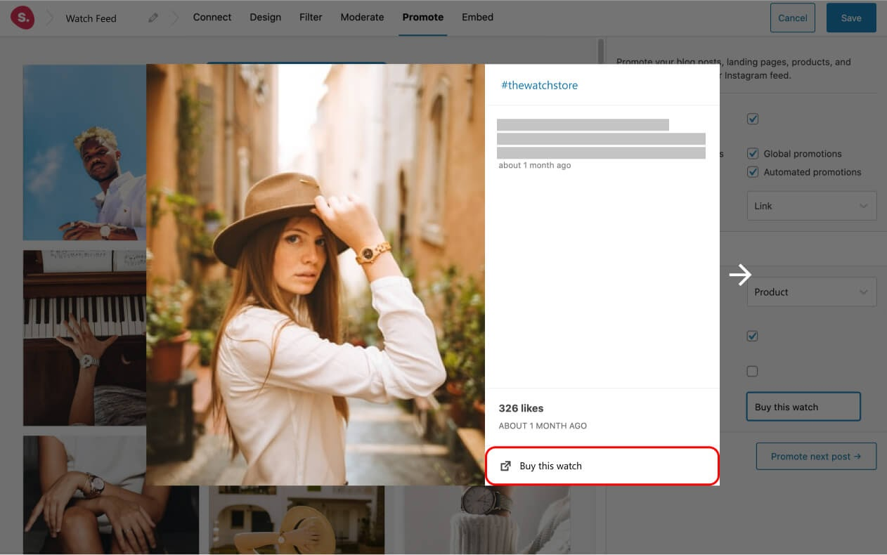 Cuadro emergente Spotlight para WooCommerce