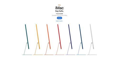 ejemplo de espacio en blanco de jerarquía visual de Apple