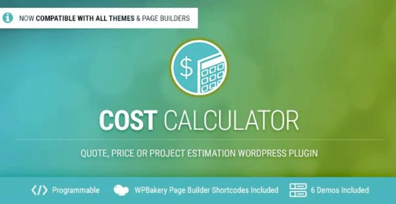 Calculadora de costos-WordPress