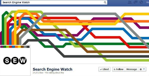 Observación del motor de búsqueda Facebook Foto de cubierta