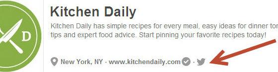 Cocina Diaria Pinterest Vinculación a otros perfiles sociales