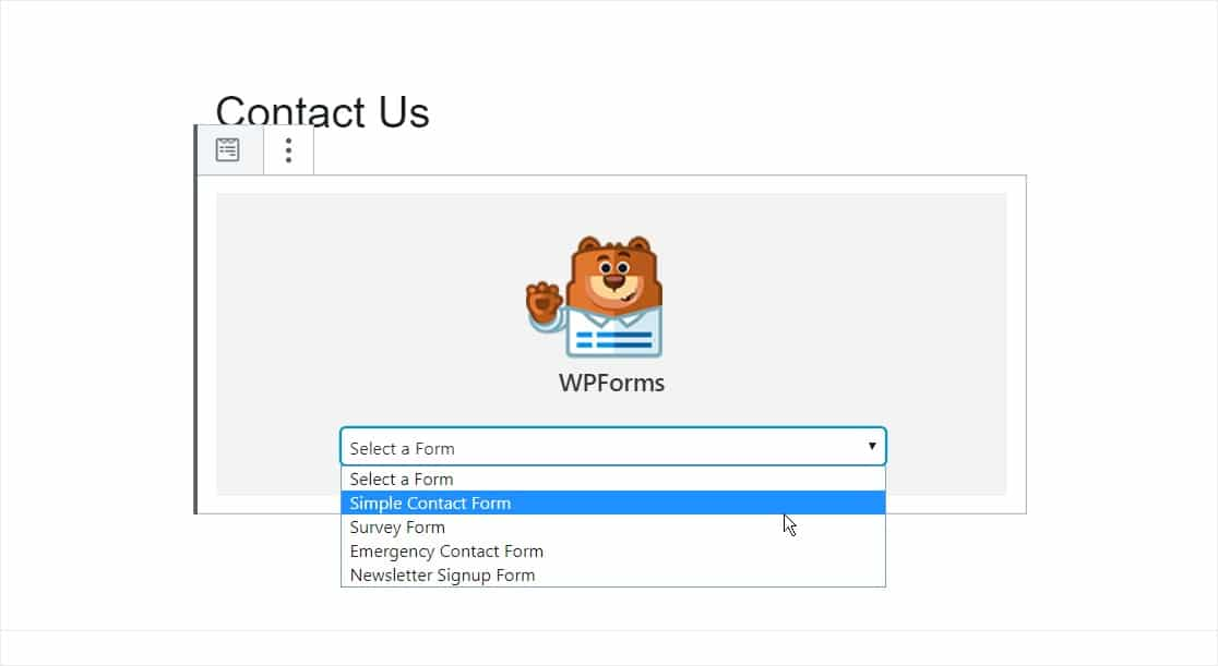 incrustar formulario en la página de wordpress