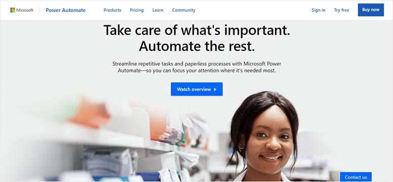Microsoft Flow: servicio de automatización del flujo de trabajo